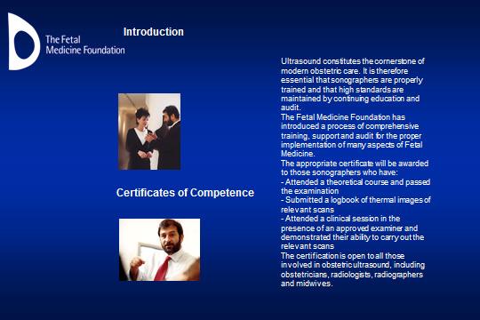 Certificazione di competenza della Fetal Medicine Foundation